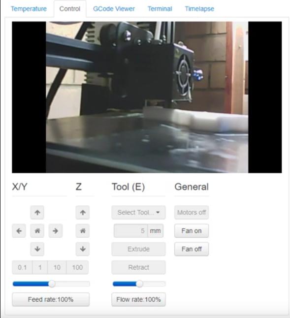 Octoprint with Logitech c170 webcam | Jason Oakley's blog